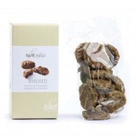 Biscotti al Farro e Canapa con Gocce di Cioccolata BIO EB023-1048
