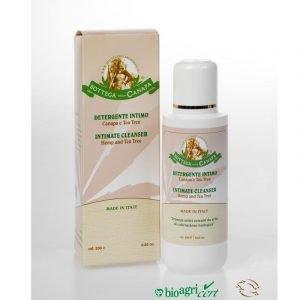 Detergente Intimo alla Canapa e TeaTree 200ml C254