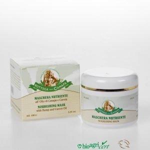 Maschera Nutriente all'Olio di Canapa e Carota 100 ml-3 PEZZI DISPONIBILI