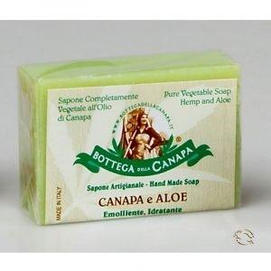 Sapone alla Canapa e Aloe Vera 100g C111