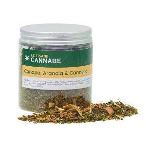 Tisana Afrodisiaca Canapa, Arancia e Cannella