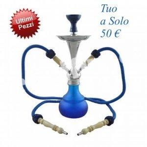 Narghilè Aladin Numea Blu/Azzurro 4777