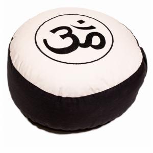 cuscino meditazione ohm avorio bianco 8012