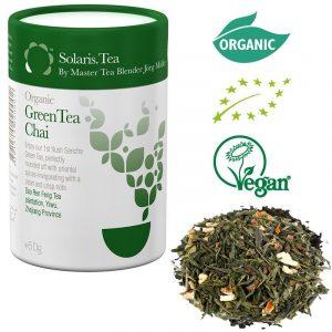 Solaris organico Tè verde Chai – tè sfuso
