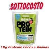 Proteine della Canapa con Cocco e Ananas 1 kg-