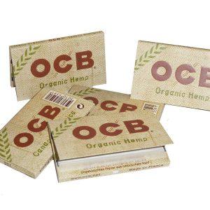 Ocb Cartine Canapa Bio Doppia, 25 libretti