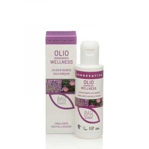 Olio Massaggio-Con Olio di Mandorla, Rosa e Melograno