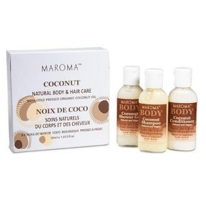 Maroma set da viaggio al Cocco Fair trade