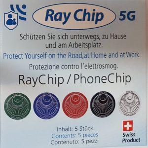 RayGuard Chip – set da 5 – 5G