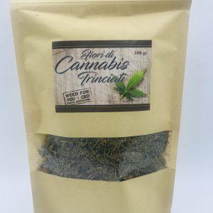 Fiori di Cannabis Trinciati-Qualità Garantita 100g