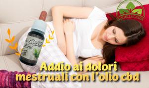 L'olio cbd 20% è la perfetta combinazione di ingredienti 100% naturali per calmare i dolori mestruali e diminuire l'intensità dei sintomi premestruali