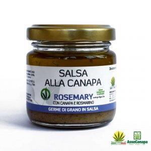 Salsa Veg Rosemary Canapa e Rosmarino