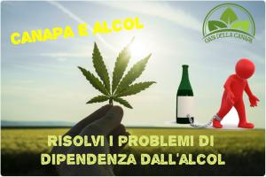 Il Cbd olio di canapa essendo non psicoattivo funziona alla perfezione per il trattamento dipendenza alcol