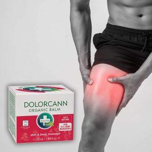 Dolorcann – Unguento di canapa per il massaggio della pelle di articolazioni, tendini, muscoli e schiena, 50 ml