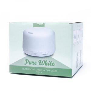 Diffusore aromi ultrasuoni Pure White