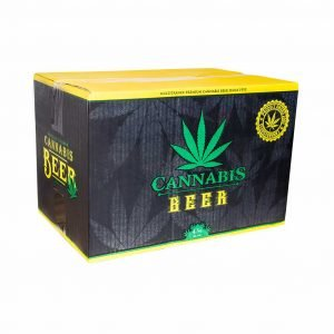 Cannabis Flavoured Beer Green Leaf 330ml – 4.5% Alc.