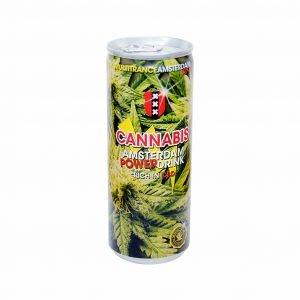 Amsterdam Cannabis Energy Drink 250ml THC Free