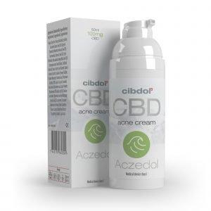 Cibdol – Aczedol Anti-Acne 100mg CBD cream (50ml)