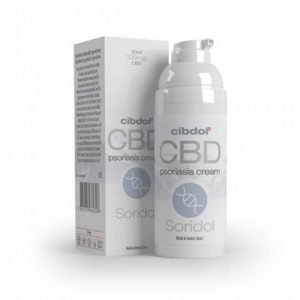 Cibdol – Soridol Psoriasis Cell Growth 100mg CBD crema (50ml)