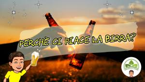 Due mani che sostengono la birra e festeggiano
