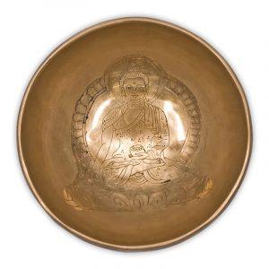 Campana tibetana Buddha Medicina