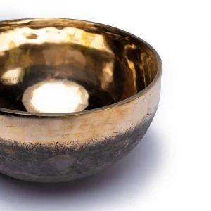 Campana tibetana Ishana nero/oro