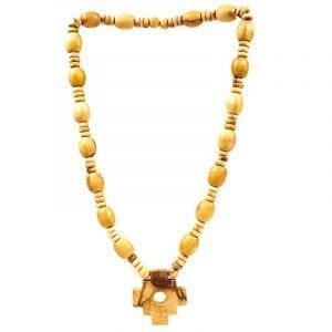 Palo Santo collana sciamana con croce inca