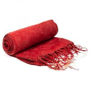 Scialle Meditazione rosso
