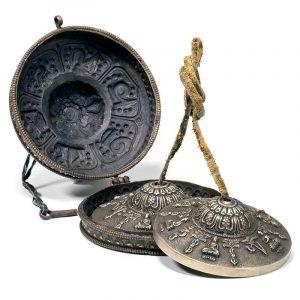 Set cimbali con lussuosa custodia in metallo