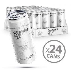 Cannabis Green Tea Haze 250ml – 24 Lattine