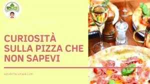 Foto di una pizza, curiosità sulla pizza che non sapevi