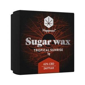 Happease Estratto di CBD Tropical Sunrise Sugar Wax 62% CBD (1g)