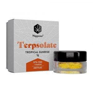 Happease Estratto di CBD Tropical Sunrise Terpsolate 97% CBD + Terpeni (1g)
