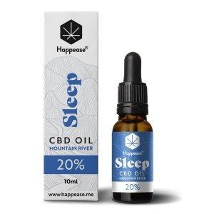 Happease Sleep 20% Olio di CBD Mountain River (10ml)
